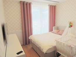 Visage Home Style – A project in İzmir, Turkiye. (guest room)  - İzmir'de uygulaması bize ait bir projenin misafir odasından bir kare.: modern tarz Yatak Odası