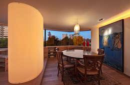 Departamento Polanco 1: Comedores de estilo moderno por Lopez Duplan Arquitectos