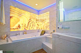 modern Bathroom by studiodonizelli