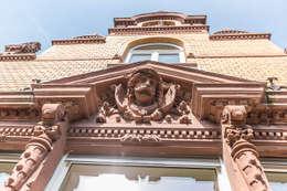 Detail Fassade: klassische Häuser von Wohnwert Innenarchitektur