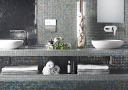 minimalistic Bathroom by The Mosaic Company