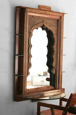 Corridor, hallway & stairs  by Uttara And Adwait Furniture