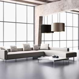 modern Living room by VIOCERO