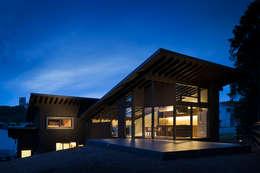 Terrasse de style  par 設計組織DNA