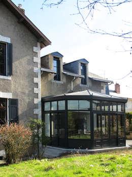 maison à Limoges: Maisons de style de style Classique par Jean-Paul Magy architecte d'intérieur