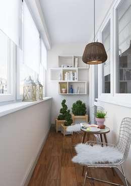 Terrasse de style  par Anna Clark Interiors