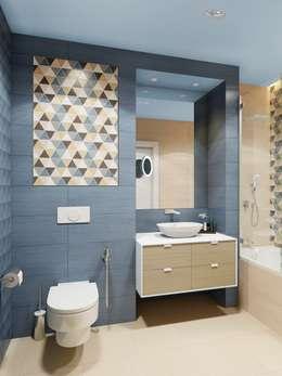 Salle de bains de style  par Anna Clark Interiors