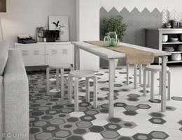 skandinavische Esszimmer von Equipe Ceramicas