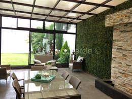 Jardines de estilo moderno por Colectivo Verde