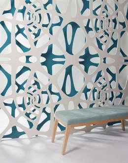 Maths in nature: Paredes y pisos de estilo minimalista por AMOATO STUDIO SA DE CV