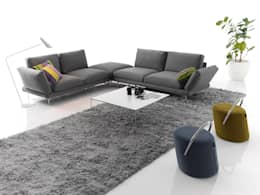 modern Living room by BELTÁ & FRAJUMAR