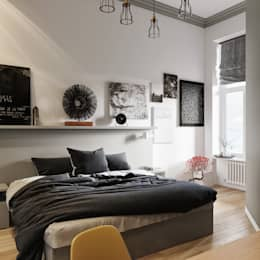 Schwarz U2013 Eine Unbunte Farbe Im Schlafzimmer