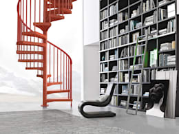Corridor, hallway & stairs by Fontanot