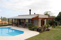 rustieke & brocante Garage/schuur door Graça Brenner Arquitetura e Interiores