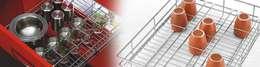 kitchen basket: modern Kitchen by RISING STAR STEEL INDUSTRIES