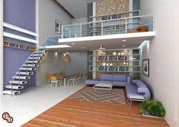 Minimalistic Interior spaces ---Living room interiors: minimalistic Living room by Preetham  Interior Designer