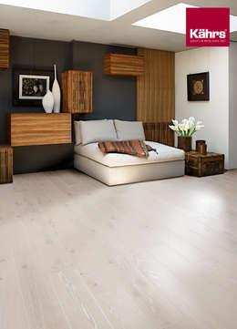 modern Bedroom by Kährs Parkett Deutschland