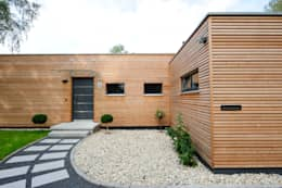 moderne Huizen door Bau-Fritz GmbH & Co. KG