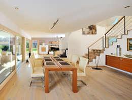 Столовая комната в . Автор – Bau-Fritz GmbH & Co. KG