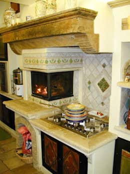 colonial Kitchen by La Fleche Design