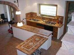 mediterranean Kitchen by La Fleche Design