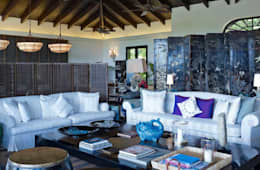 ANG42: tropikal tarz tarz Oturma Odası