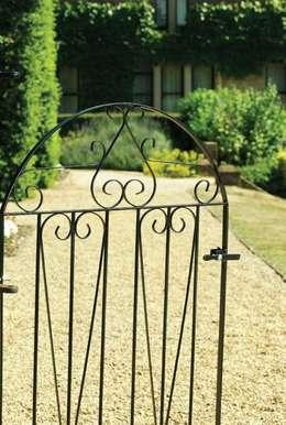 A Selection of Wrought Iron Gates:  Garden  by Garden Gates Direct