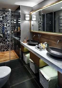 Esra Kazmirci Mimarlik: modern tarz Banyo
