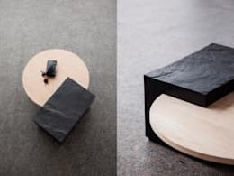 Salas/Recibidores de estilo  por SAMT-RAU