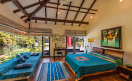 G Farm House: eclectic Bedroom by Kumar Moorthy & Associates
