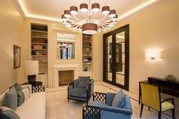 Der Durchbruch Im Luxus Wohnzimmer