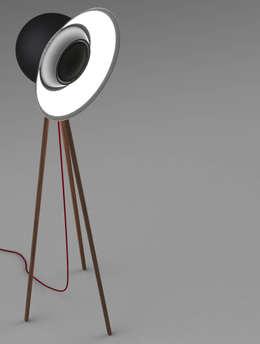 Adagio - alias BeoSound 2020: Sala multimediale in stile  di Marco Napoli Designer