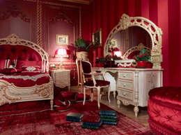 Dormitorios de estilo  por Asnaghi Interiors