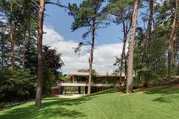 Casas modernas por HILBERINKBOSCH architecten