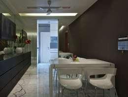 Salas de jantar minimalistas por homify