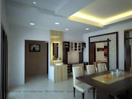 Residential Interiors: asian Living room by Amar DeXign Scape