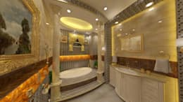 BATHROOMS FOR PRIVATE CLIENT: classic Bathroom by TOPOS+PARTNERS