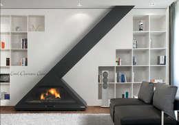 : Livings de estilo minimalista por insert