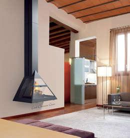 Salones de estilo moderno de insert
