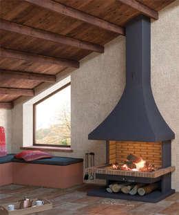 rustikale Wohnzimmer von insert