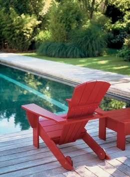 Jardines de estilo moderno por Muebles Flores Torreblanca