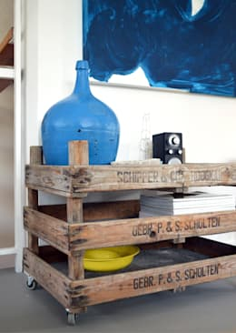 Flur: industrialer Flur, Diele & Treppenhaus von Kristina Steinmetz Design