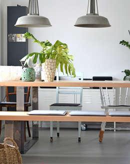 modern Dining room by Kristina Steinmetz Design
