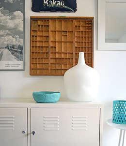 Livings de estilo moderno por Kristina Steinmetz Design