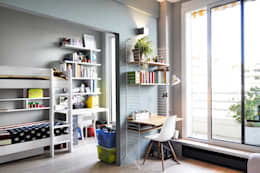 modern Study/office by Barbara Sterkers , architecte d'intérieur