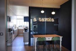 Barbara Sterkers , architecte d'intérieur: modern tarz Yemek Odası