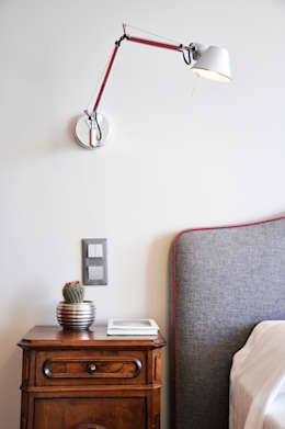 Barbara Sterkers , architecte d'intérieur: modern tarz Yatak Odası