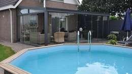 Mooieverandas.nl : modern tarz Kış Bahçesi