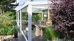 Mooieverandas.nl grootste veranda dealer van Nederland: moderne Serre door Mooieverandas.nl