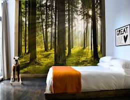 Vlies fotobehang:  Muren & vloeren door Muurmode